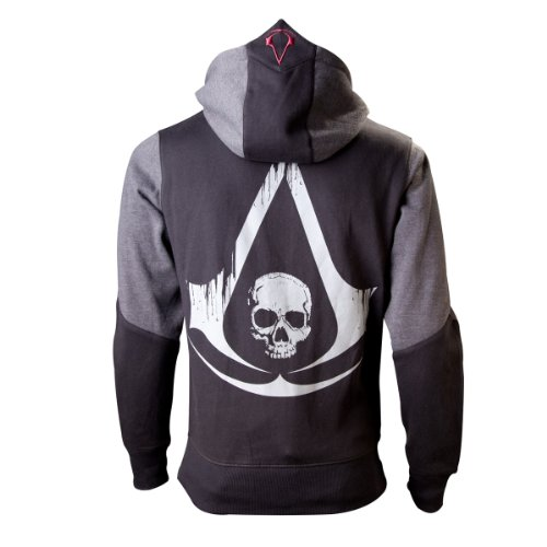 Flashpoint Ag Assassins Creed 4, Felpa Uomo, Nero (Black Grey Character), M