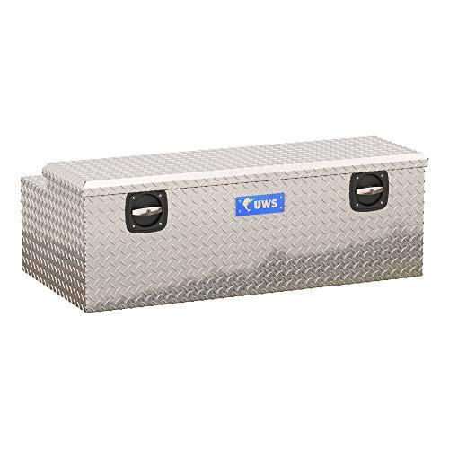 UWS EC20501 Secure Lock 48-Inch Heavy-Wall Aluminum Under Tonneau Cover Tool Box, RigidCore Lid