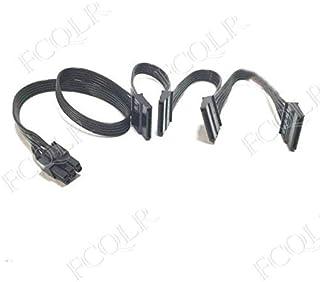 FCQLR for DIY Cooler Supreme Haiyun Module Power 5Pin-SATA 4 Module Line SATA Hard Drive Cable 0.85m