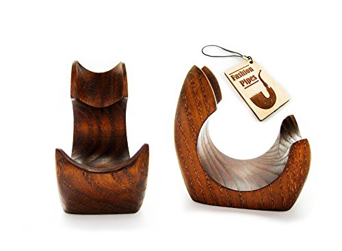 New Wooden Pipe Stand Rack Holder for Tobacco Pipe - Smoking Pipe. Handcrafted (1)