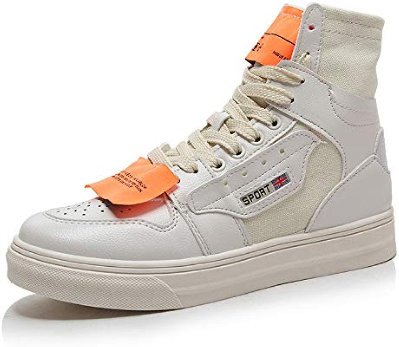 HOESCZS Damenschuhe Martin Stiefel Damen Herbst Herbst Stiefel Dicke Sohle Schuhe Casual Schnürung Damen Stiefel Flache Einzelstiefel  verkaufen sich wie warme Semmeln