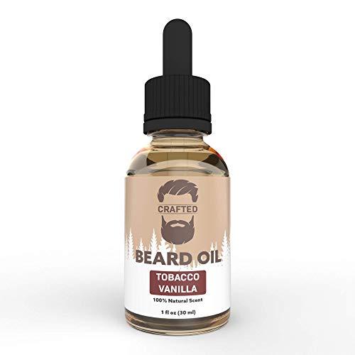 Crafted Beard Oil Conditioner | Tobacco Vanilla Scent | All Natural