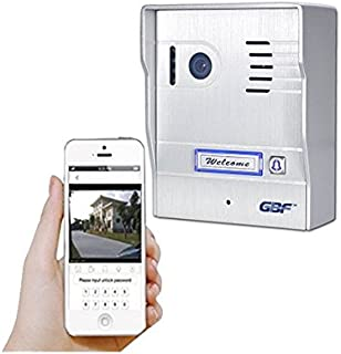 GBF IP Wireless Weatherproof Video Doorbell WI-FI Intercom System Night Vision