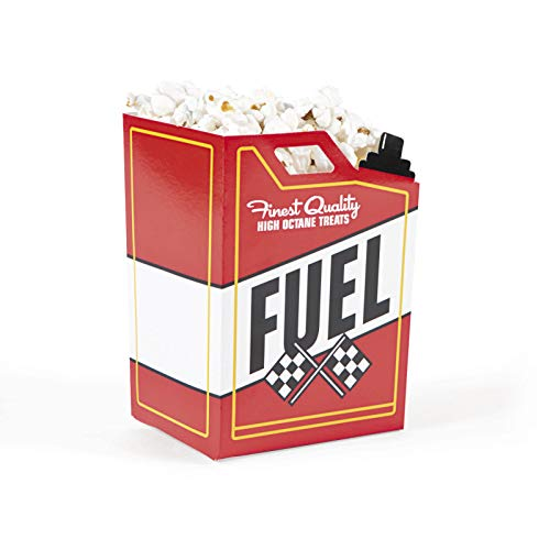 Cheap Race Car Fuel Can Popcorn Boxes, 24 Count