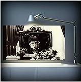 KELDOG Carteles de Arte Impresiones enmarcadas Al Pacino Scarface póster de película Lienzo Pintura Cuadro de Arte de Pared para Sala de Estar decoración del hogar Listo para colgar-40X70Cm Enmarcado