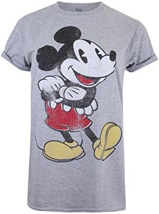 Disney Mickey Vintage Camiseta para Mujer