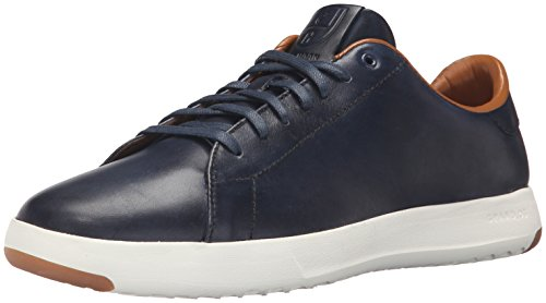 Cole Haan Men's Grandpro Tennis Fashion Sneaker, Blazer Blue Hand Stain, 9 M US