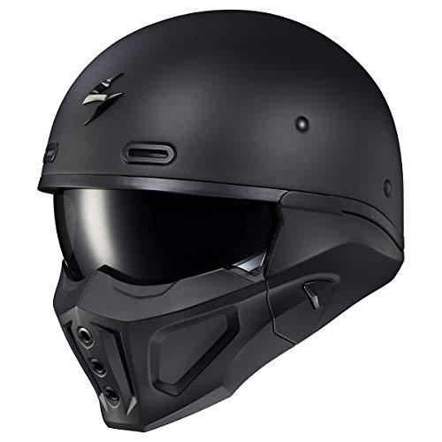 Scorpion Covert X Helmet (Large) (Matte Black)