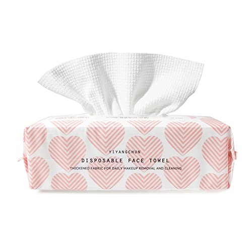 Face Towel For Skincare Makeup Remover Cloth Face Cloths For Washing Face 100% Viscose Washcloths For Face Super Soft Extra Thick&Strong&Absorbent 7.8in9.6in 60 Count(Pack Of 1)