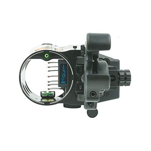 IQ Define Pro 7-Pin Bow Range Finding Sight, Retina Lock Magnesium, Tool-Less Adjustments, 2nd & 3rd Axis Adjustments, CR-2 Powered Range Finding Unit with +/- 1 Yard Resolution to 150 Yards