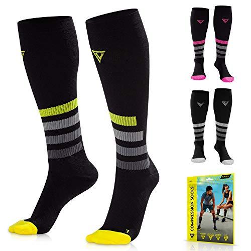 LANGOV Compression Socks For Women & Men...