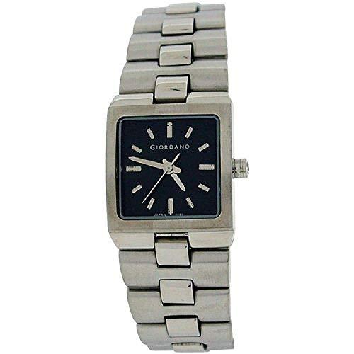 GIORDANO -2090-1 Armband Damenuhr mit schwarzem Zifferblatt