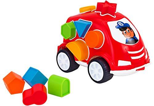 Globo Toys 05219 VITAMINA G Stekkerdoos Van met 10 vormen