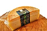 Queso Curado Artesano (Elaborado a mano) 500-600gr. La Verea Andaluza 'Oro andaluz' - Leche Cruda 100% Vaca (Vacas montbeliarde/frisonas) SIN GLUTEN