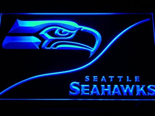Seattle Seahawks LED Neon Sign - Light Sign by Kosmic Neon