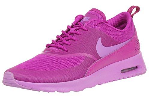 Nike Air Max Thea - zapatillas de running de piel mujer, Fuchsia Flash/Fuchsia Glow, 37.5