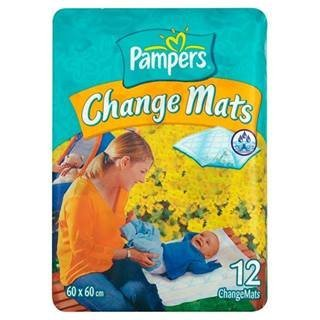 Pampers Care Change Mats 60x60cm 12 per pack by Pampers