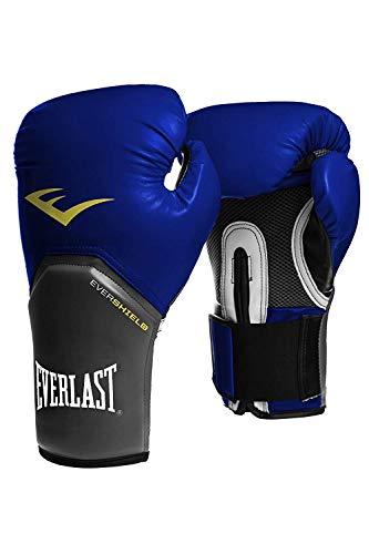 Everlast Boxhandschuhe Elite Pro Style schwarz rot blau weiss pink 8 10 12 14 16 Oz (blau, 12 Oz)