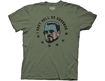 Big Lebowski I Don t Roll On Shabbas Men s T-Shirt X-Large-Army Green