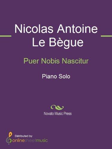 Puer Nobis Nascitur (English Edition)