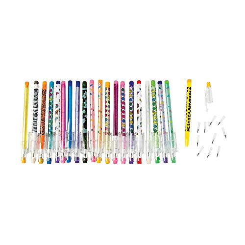Stacking Point Pencils for Kids (bulk set of 50) Fun Pencils and School Supplies