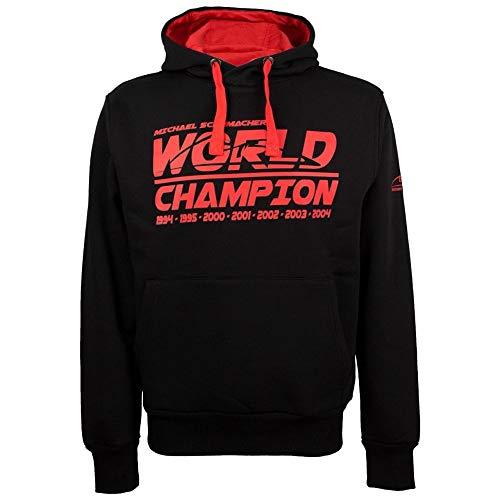 Michael Schumacher Hoodie World Champion schwarz
