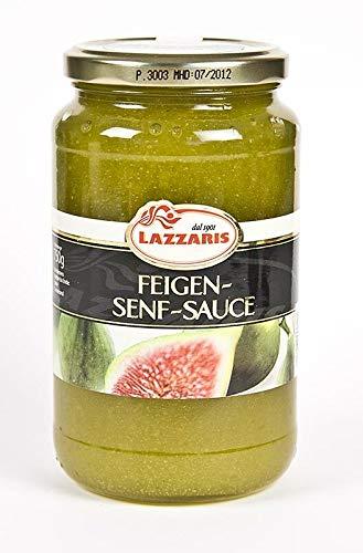 Lazzaris -Feigen-Senf-Sauce, nach Tessiner Art, 750g