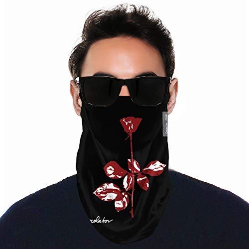 Dm Violator Depeche Mode Tube Neck Gaiter Schal Herren Damen Gesicht Bandana Elastische Abdeckung für Masken Workout Magic Headwear Stirnbänder Wärmer Windshield Kopftuch