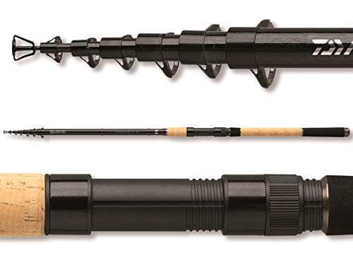 Daiwa Megaforce Tele Spin, 7.87 Feet, 0.25-0.88 Ounce, 6 Parts, Telescopic Fishing Rod