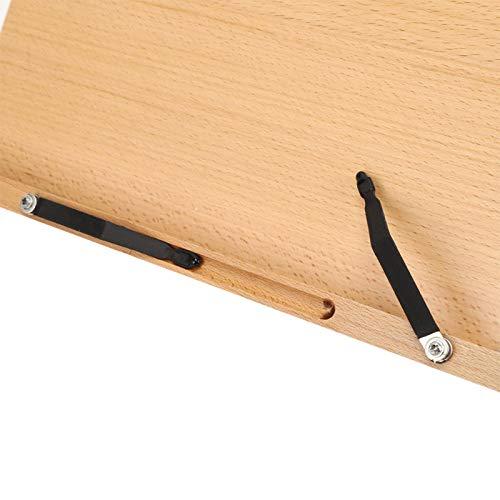 Reading Rest Tablet Rack, Foldable Adjustable Reading Rest Holder, for Notebook Stand Bookshelf(Specification 2, Blue)