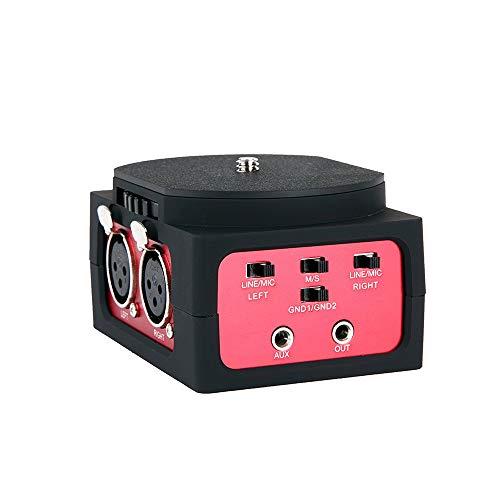 Saramonic SR-AX101 Universal Audio-Adapter mit Dual-XLR-Eingänge für DSLR Kameras und Camcorder
