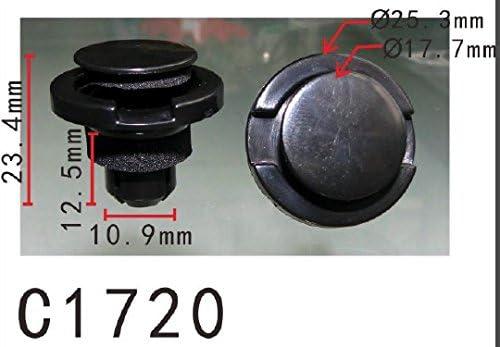 Choice Autobahn88 Nylon Rocker Molding Clip O Subaru shipfree Impreza fits for