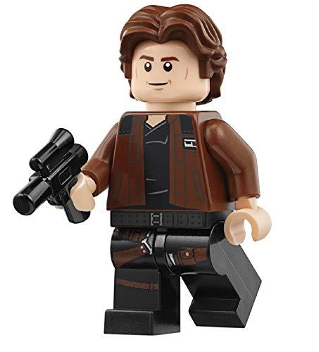 LEGO Solo: A Star Wars Story Minifigure - Han Solo Brown Kessel Run Jacket (75212)