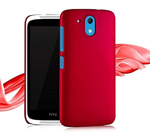 Techno TrendZ Matte Rubberized Finish Frosted Hard Back Shell Cover Guard Protection for HTC Desire 526G and Dual SIM , 526 G Plus , Desire 326G Dual SIM