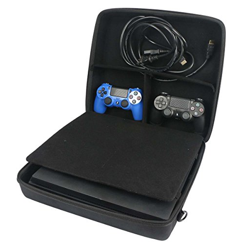 for Sony PlayStation 4 Pro Hard Case fits Move Motion Controller/PS4 Camera by co2CREA