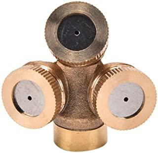 Garden Sprinkler - 2019 Style 1 2 3 4 Nozzles Agricultural Brass Misting Spray Nozzle Garden Sprinkler Irrigation - Sprinklers Sprinkler Jewelry Nozzle Spray Mist System Mist Sprinkler Micro W