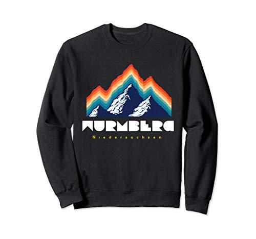 Wurmberg Niedersachsen - Deutschland Retro 80s Ski Geschenk Sweatshirt