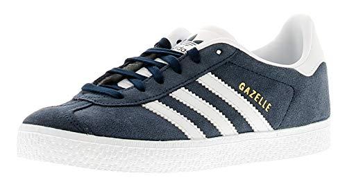adidas Gazelle, Zapatillas Unisex Niños, Azul (Collegiate Navy/Footwear White/Footwear White 0), 28 EU