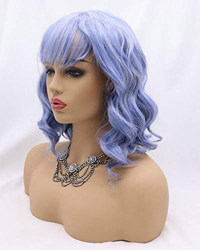 comprar pelucas lila corta