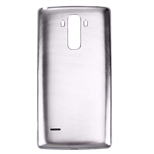 DuLing Tapa Trasera de la batería del teléfono móvil, A estrenar y de Calidad Cubierta Trasera Alta con Chip NFC, for LG G Stylo / LS770 / H631 y G4 Stylus / H635 (Color : Grey)