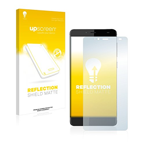 upscreen Entspiegelungs-Schutzfolie kompatibel mit Elephone S3 Lite – Anti-Reflex Bildschirmschutz-Folie Matt