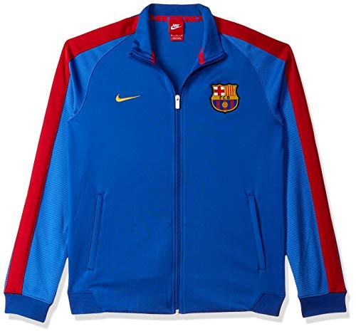 Nike FCB Auth N98 Jacke Linie F.C. Barcelona, Herren. XXL Blau (Sport Royal/Lyon Blue/University Gold)