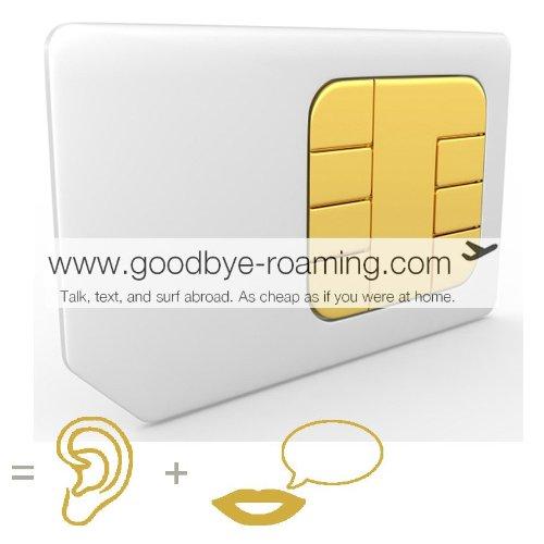 Tarjeta SIM Prepago de España (por llamadas/