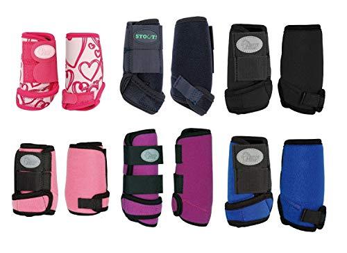 netproshop Neopren Gamaschen für die Kleinsten Mini Shetty und Shetty Auswahl, Groesse:Mini Shetty, Farbe:Dunkelblau