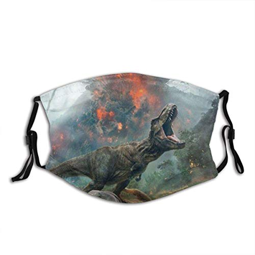 Mundschutz Jurassic World Fallen Kingdom Protect1 Mouth Cover Face Cover Headscarf Outdoor Seamless Reusable Mouth Scarf