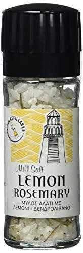 Biodinami Meersalz mit Zitrone und Rosmarin Mühle 110g,  2 Stück