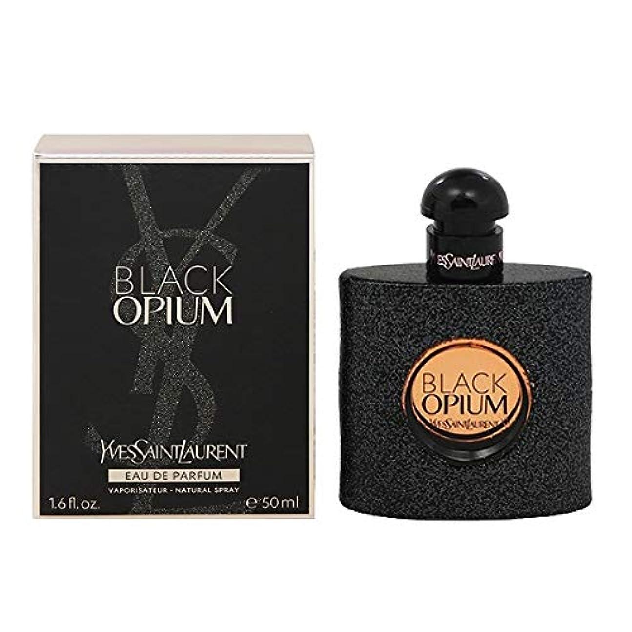 意気揚々雑品サスペンドイヴサンローラン(Yves Saint Laurent) ブラック オピウム EDP SP 50ml [並行輸入品]