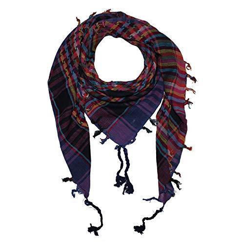 Superfreak Palituch - einfach gewebt bunt-mehrfarbig 08-100x100 cm - Pali Palästinenser Arafat Tuch - 100{385b527c3488861a12fbadf759d2c8669f069ba5e964b7756c66d06fdb89b49e} Baumwolle