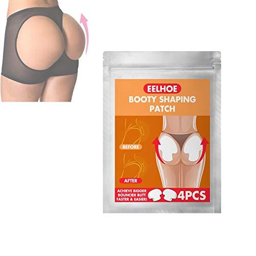 NMSLQ Pro Butt-Lift Shaping Patch Set Belleza agrandamiento de glúteos, Mejora de Levantamiento de glúteos melocotón, Parche de Levantamiento de glúteos Fortalece rápidamente la Cadera para Mujeres
