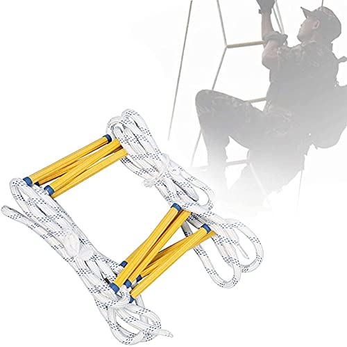 HHORB Rope Ladders, Emergency Fire Escape Ladder, Fire Ladders for Second...